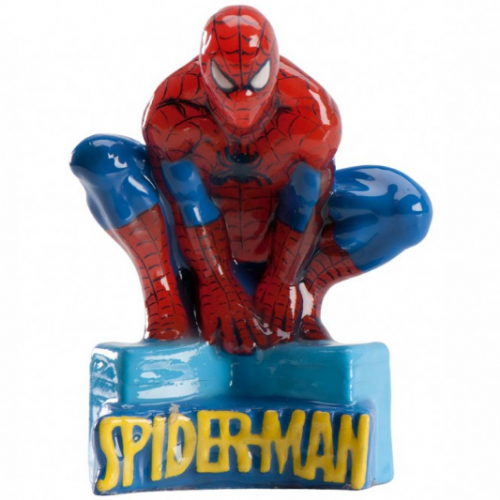 Spiderman Candle